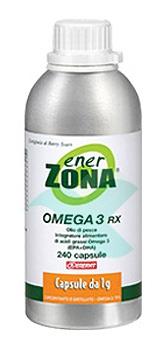 Enerzona Linea Integratori Omega3 Rx Acidi Grassi EPA DHA 240 Capsule da 1 g