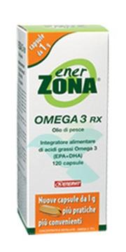 Enerzona Linea Integratori Omega3 Rx Acidi Grassi EPA DHA 120 Capsule da 1 g