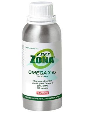 Enerzona Linea Integratori Omega3 Rx Acidi Grassi EPA DHA 210 Capsule da 0,5 g