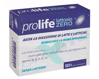 Prolife Lattosio Zero Integratore Alimentare di Fermenti Lattici 30 Capsule