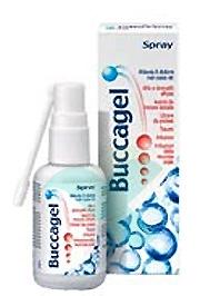 Buccagel Spray Lenitivo Calmante del Cavo Orale 30 ml