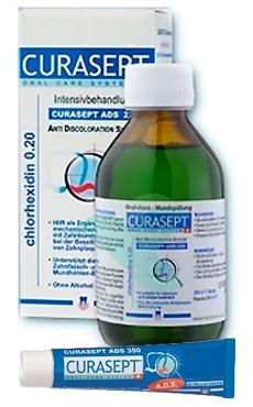 Curaden Curasept ADS Clorexidina 0,20% Colluttorio 200 ml + Gel Disinfettante