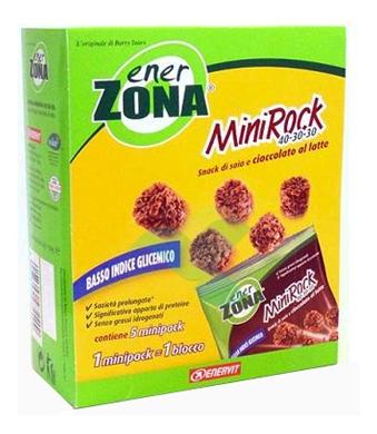 EnerZona Linea Alimentazione Dieta a ZONA 5 Minirock Cioccolato Latte 40-30-30