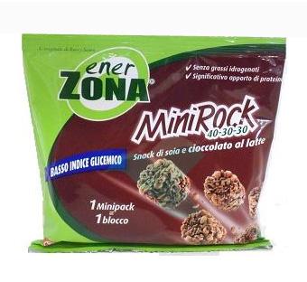 EnerZona Linea Alimentazione Dieta a ZONA Minirock Cioccolato al Latte 40-30-30