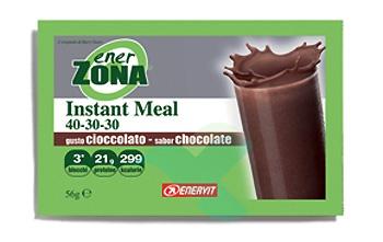 EnerZona Linea Alimentazione Dieta a ZONA Instant Meal Cioccolato 40-30-30