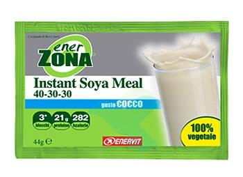 EnerZona Linea Alimentazione Dieta a ZONA Instant Soya Meal Cocco 40-30-30