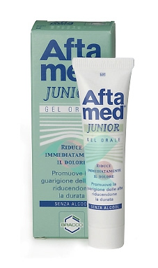 Aftamed Junior Gel Parodontale Lenitivo Calmante Anti-Irritazioni 15 ml