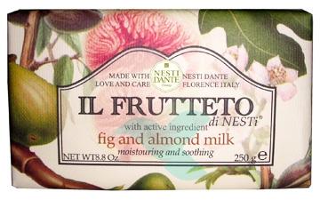 Nesti Linea Il Frutteto Sapone Vegetale Fico e latte di Mandorla 250 g