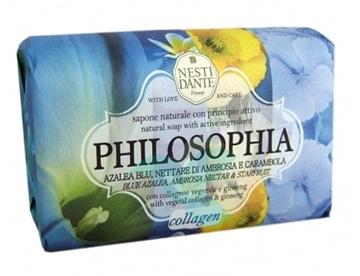 Nesti Linea Philosophia Sapone Vegetale Collagene Azalea Ambrosia Carambola 250g