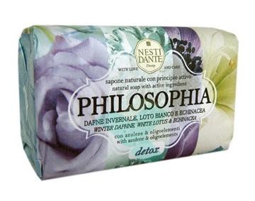 Nesti Linea Philosophia Sapone Vegetale Detox Dafne Loto Bianco Echinacea 250 g