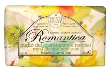 Nesti Linea Romantica Sapone Vegetale Giglio del granducato e Narciso 250 g