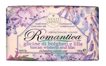 Nesti Linea Romantica Sapone Vegetale Glicine di Bolgheri e Lilla 250 g