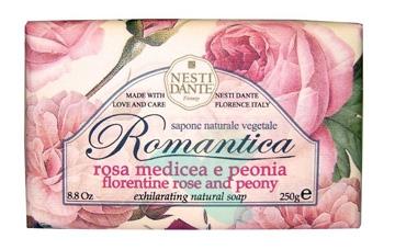 Nesti Linea Romantica Sapone Vegetale Rosa Medicea e Peonia 250 g