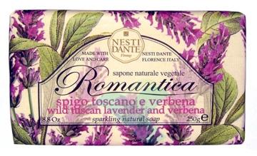 Nesti Linea Romantica Sapone Vegetale Spigo Toscano e Verbena 250 g