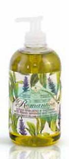 Nesti Linea Romantica Sapone Vegetale Liquido Spigo e Verbena 500 ml