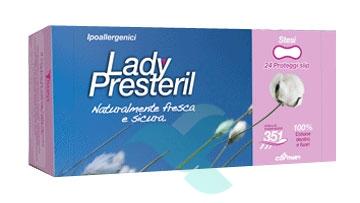 Lady Presteril Linea Pocket Assorbente Puro Cotone 24 Proteggislip Anatom Stesi