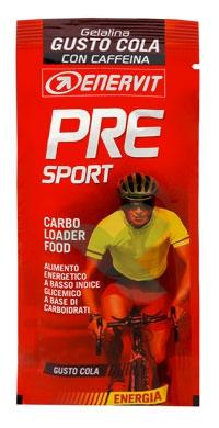 Enervit Sport Linea Energia PRE SPORT 20 Gelatine Energetiche Gusto Cola 45 g