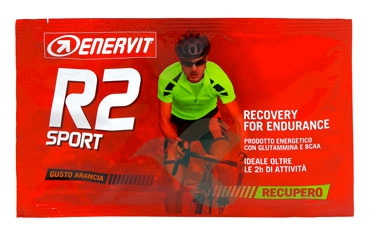 Enervit Sport Linea Energia R2 Sport Prodotto Energetico 20 Buste Gusto Arancia