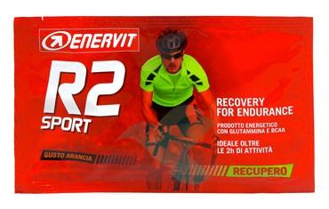 Enervit Sport Linea Energia R2 Sport Prodotto Energetico 6 Buste Gusto Arancia