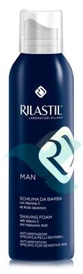 Rilastil Linea Man Gel da Barba Delicato e Soffice Pelli Sensibili Uomo 150 ml