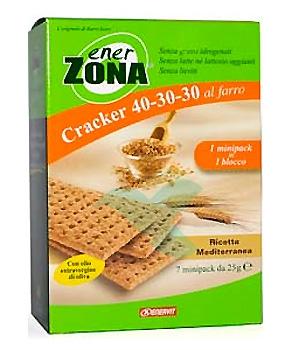 EnerZona Linea Alimentazione Dieta a ZONA Spuntino Mediterraneo 40-30-30