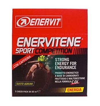 Enervit Sport Linea Energia Enervitene Sport Competition 5 pack Gusto Agrumi
