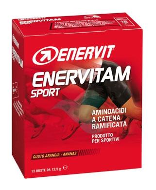 Enervitam Sport Linea Energia 12 Bustine Energetiche Gusto Ananas Arancia