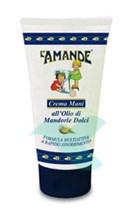 L'Amande Linea Marsiglia Olio Mandorle Dolci Mani Crema Nutriente 75 ml