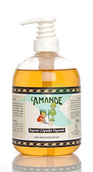 L'Amande Linea Marsiglia Sapone Liquido Idratante Olio di Oliva 300 ml
