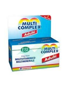 Esi Linea Vitamine e Minerali Multicomplex Adulti Integratore 30 Compresse