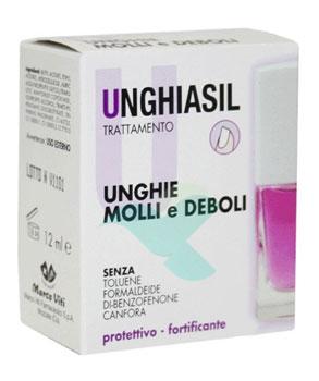 Unghiasil Linea Unghie Trattamento Protettivo Unghie Molli e Deboli 12 ml