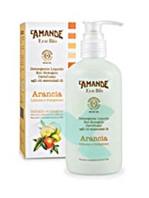L'Amande Linea Eco Bio Detergente Liquido Arancia Limone Pompelmo 250 ml