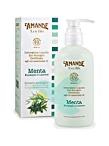 L'Amande Linea Eco Bio Detergente Liquido Menta Eucalipto Limone 250 ml
