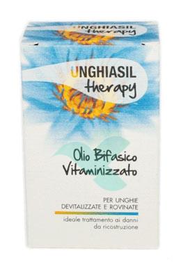 Unghiasil Linea Therapy Olio Bifasico Vitaminizzato Trattamento Protettivo 10 ml