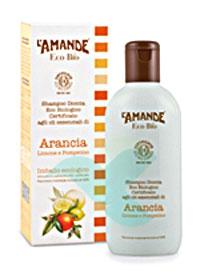L'Amande Linea Eco Bio Doccia Shampoo Arancia Limone Pompelmo 200 ml