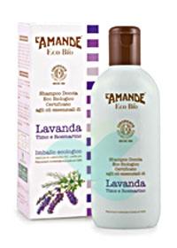 L'Amande Linea Eco Bio Doccia Shampoo Lavanda Timo Rosmarino 200 ml