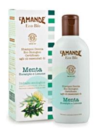 L'Amande Linea Eco Bio Doccia Shampoo Menta Eucalipto Limone 200 ml