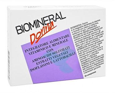 Biomineral Linea Menopausa Donna Integratore Vitaminico Minerale 30 Compresse