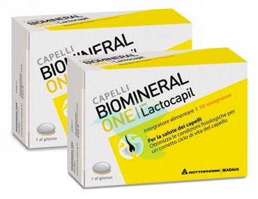 Biomineral Linea Hair Terapy One con Lactopil Capelli Deboli 2x30 Compresse