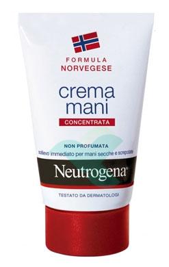 Neutrogena Linea Mani Crema Concentrata Nutriente Senza Profumo 50 ml
