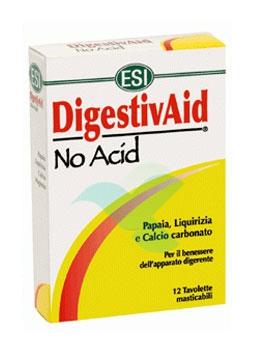Esi Linea Benessere Stomaco DigestivAid No Acid Anti-Acido 12 Tavolette Mastic