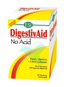 Esi Linea Benessere Stomaco DigestivAid No Acid Anti-Acido 60 Tavolette Mastic