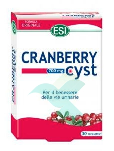 Esi Linea Benessere Urinario Cranberry Cyst Integratore 30 Ovalette