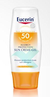 Eucerin Linea Solare Sun Allergy Protezione Dermatologica SPF50 Crema Gel 150 ml
