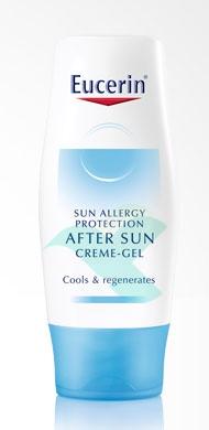 Eucerin Linea Solare Sun Allergy Doposole Lenitivo Idratante Crema Gel 150 ml