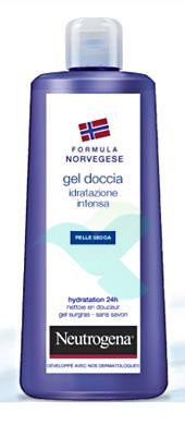 Neutrogena Linea Bagno Gel Doccia Idratazione Intensa Profumato 250 ml