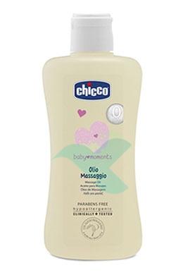 Chicco Linea Baby Moments Cura del Bambino Olio da Massaggio Corpo 200 ml
