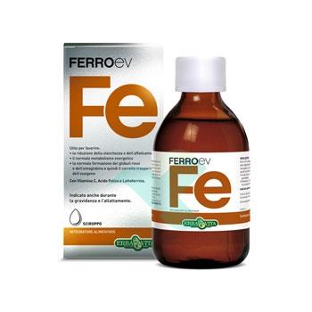 Erba Vita Linea Vitamine e Minerali FerroEV Integratore Sciroppo 250 ml