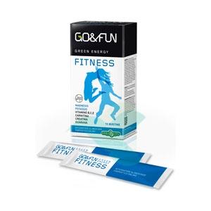 Erba Vita Linea Sport Go&Fun Fitness Integratore Alimentare 10 Buste