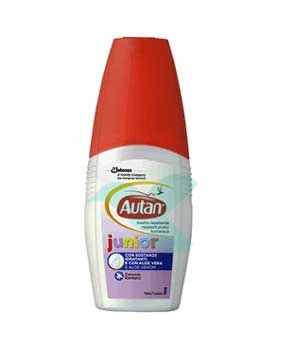 Autan Linea Junior Vapo Spray Delicato Insetto-Repellente 100 ml